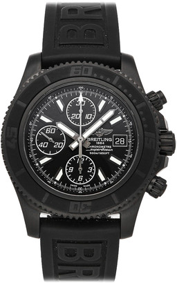 Breitling Black Blacksteel Superocean II Chronograph Limited Edition M13341B7/BD11 Men's Wristwatch 44 MM