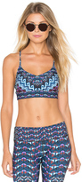Mara Hoffman Cross Back Sports Bra