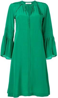 Dorothee Schumacher Long-Sleeve Flared Dress