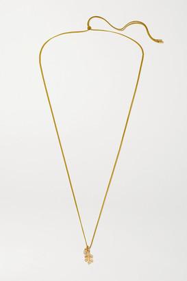 OLE LYNGGAARD COPENHAGEN Forest 18-karat Gold Diamond Necklace - one size
