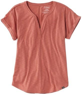 L.L. Bean Women's Short-Sleeve Streamside Tee