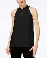 Bar III Tie-Back Keyhole Top, Created for Macy's