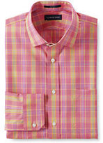 Classic Men's End on End Tailored Shirt-Clear Blue/White Stripe