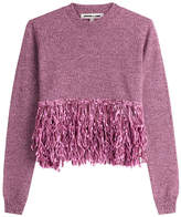 McQ Wool Pullover with Fringe