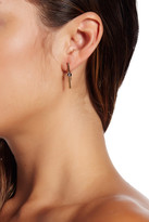 Rebecca Minkoff Two-Tone Stud & Climber Mismatched Earrings