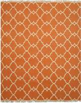 EORC IE51OR8X10 Handmade Polyester Reversible Moroccan Outdoor Rug