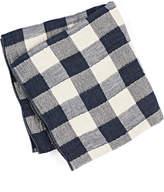Rejuvenation Navy Japanese Vintage Check Towel