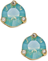 Kate Spade Rise and Shine Gold-Tone Crystal Stud Earrings