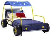 Powell Company Kids Bed Metal/Yellow/Blue
