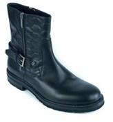 Roberto Cavalli Men's Black Leather Ankle Boots.