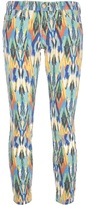 Current/Elliott 'The Stiletto' printed jeans