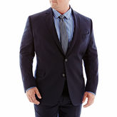 JCPenney Stafford Executive Super 100 Navy Wool Suit Jacket - Portly
