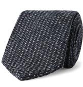Kingsman - + Drake's 8cm Wool-tweed Tie