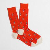 J.Crew Factory Hula girl socks