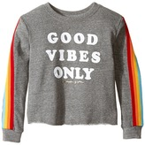 Spiritual Gangster Kids - Good Vibes Only Tee Girl's Long Sleeve Pullover