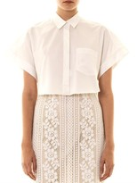 Lover Cropped short sleeve shirt