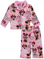 "Disney Minnie Mouse Little Girls' ""I'm Bowtiful"" 2-Piece Pajamas"