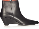 Acne Studios Cony leather ankle boots