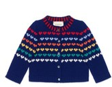 Gucci Infant Girl's Logo Wool & Cashmere Cardigan