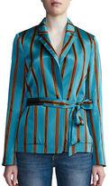 DAY Birger et Mikkelsen Striped Long-Sleeve Jacket