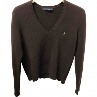 Polo Ralph Lauren Brown Cashmere Knitwear