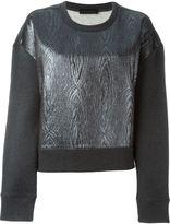 Diesel Black Gold oversized sleeves jumper