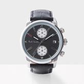 Paul Smith Men's Grey And Black 'Block' Chronograph Watch