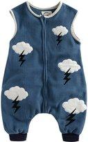 Vaenait Baby Kids Girls Micro-Fleece Sleepsack Wearable Blanket Cloud M