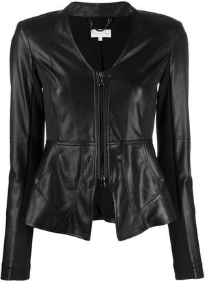 Patrizia Pepe fitted zipped jacket