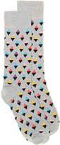Happy Socks Mini Diamond Dress Socks - Men's