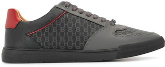 HUGO BOSS Monogram Panel Low-Top Sneakers