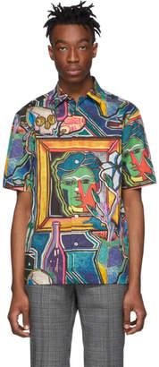 Paul Smith Multicolor Tailored Short Sleeve Shirt