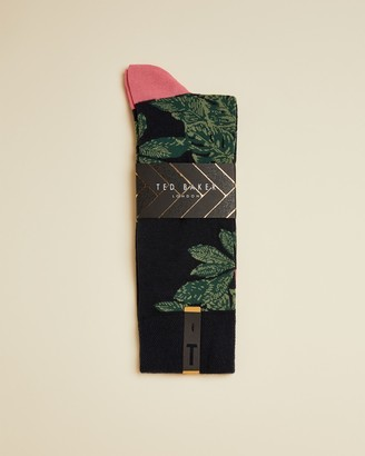 Ted Baker OLGRAMS Leaf print socks