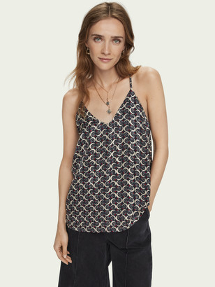 Scotch & Soda Floaty sleeveless tank top | Women
