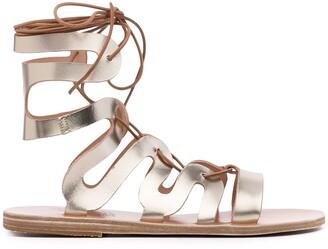 Ancient Greek Sandals Ankle-Strap Flat Sandals