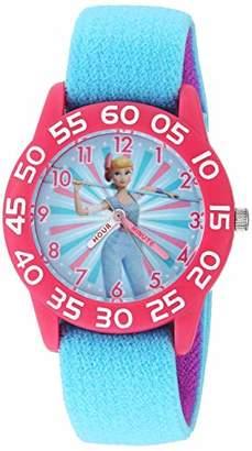 Disney Girls Toy Story 4 Analog-Quartz Watch with Nylon Strap