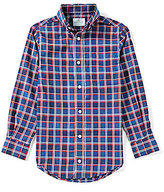 Class Club Little Boys 2T-7 Plaid Long-Sleeve Shirt