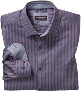 Johnston & Murphy Textured Stripe Shirt