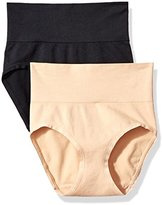 Vassarette Women's Comfortably Smooth Brief 2-Pack Panty 13274