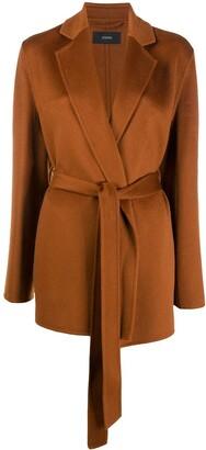 Joseph Short Belted Coat