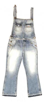 Alanui Blue Denim - Jeans Jumpsuits