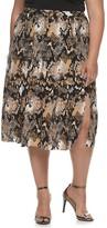 JLO by Jennifer Lopez Plus Size Pleated Skirt