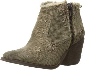 Naughty Monkey Women's Sewn Up Ankle Bootie