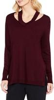 Vince Camuto Women's Cutout Neck Sweater