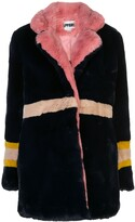 Apparis Lisa panelled faux-fur coat