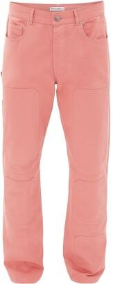 J.W.Anderson Tonal Panel Straight-Leg Jeans