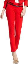 XOXO Juniors Pants, Skinny Belted