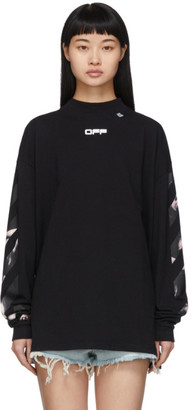 Off-White Black Caravaggio Arrows Over Long Sleeve T-Shirt