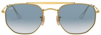 Ray-Ban Marshal Hexagonal Sunglasses