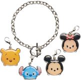 Disney Disney's Tsum Tsum Stitch, Mickey Mouse, Minnie Mouse & Winnie the Pooh Charm Bracelet Set